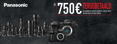 Panasonic - Tot €750 cashback