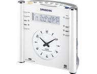 Sangean RCR-3, digitale klokradio, wit
