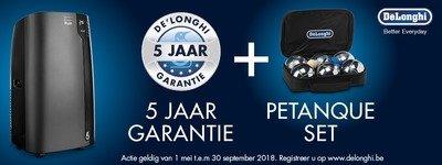 Delonghi - 5 jaar garantie