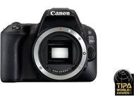 Canon EOS 200D Body - Zwart