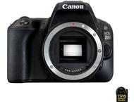 Canon EOS 200D Body + 18-55mm + Tas + SD-kaart - Zwart