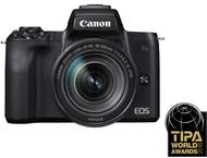 Canon EOS M50 Body + 18-150mm - Zwart