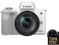 Canon EOS M50 Boîtier + 18-150mm - Blanc