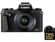 Canon PowerShot G1X Mark III - Zwart