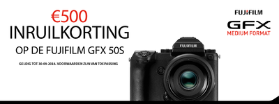 Fujifilm - €500 trade-in korting