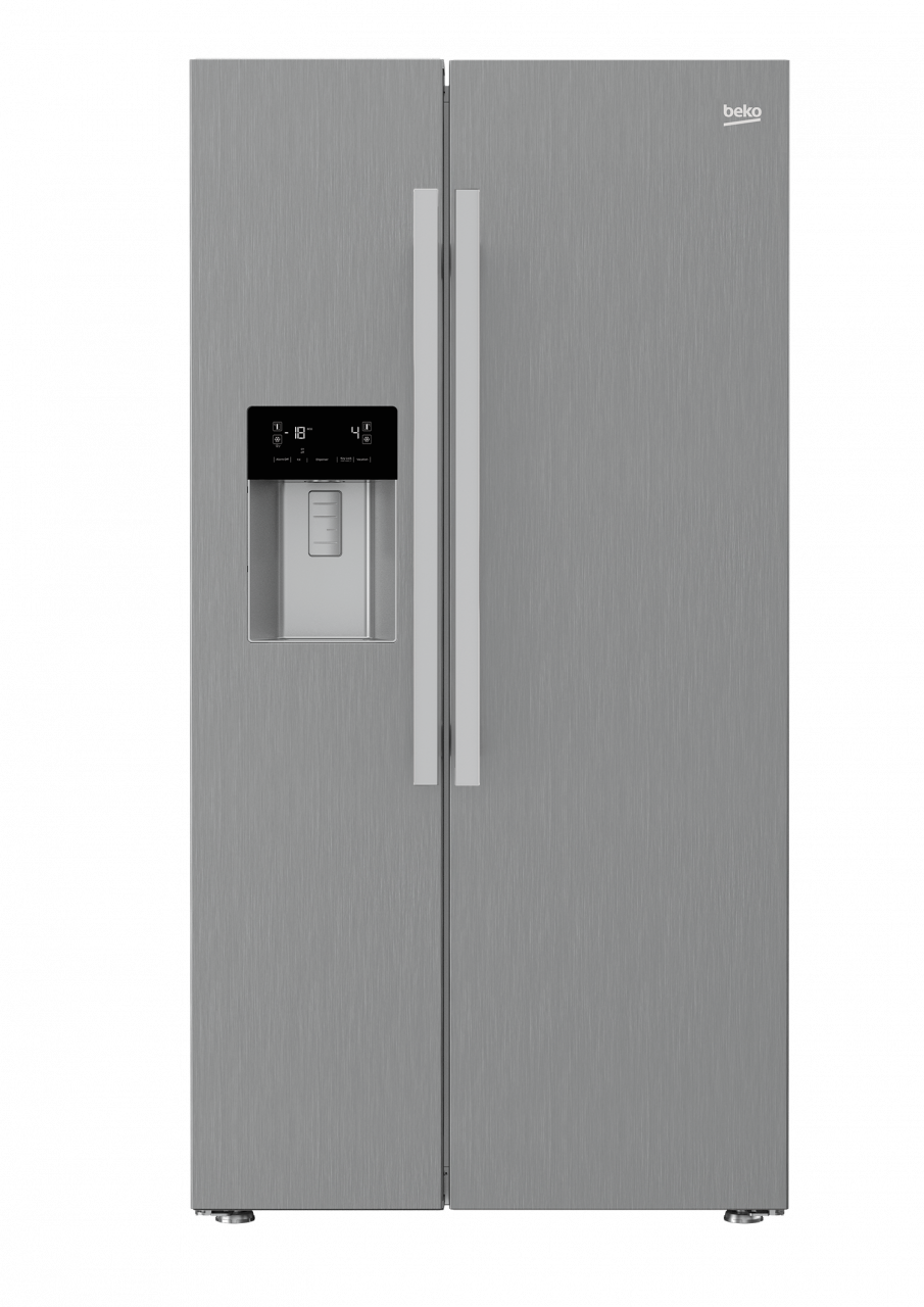 Beko Frigo Side By Side Nf Gn162320Pt | Art & Craft