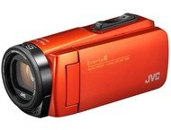 JVC GZ-R495DEU oranje incl tas + SD kaart