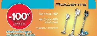 Rowenta - Air Force cashback