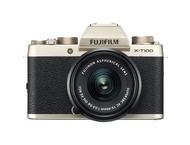 Fujifilm X-T100 + 15-45mm - Goud