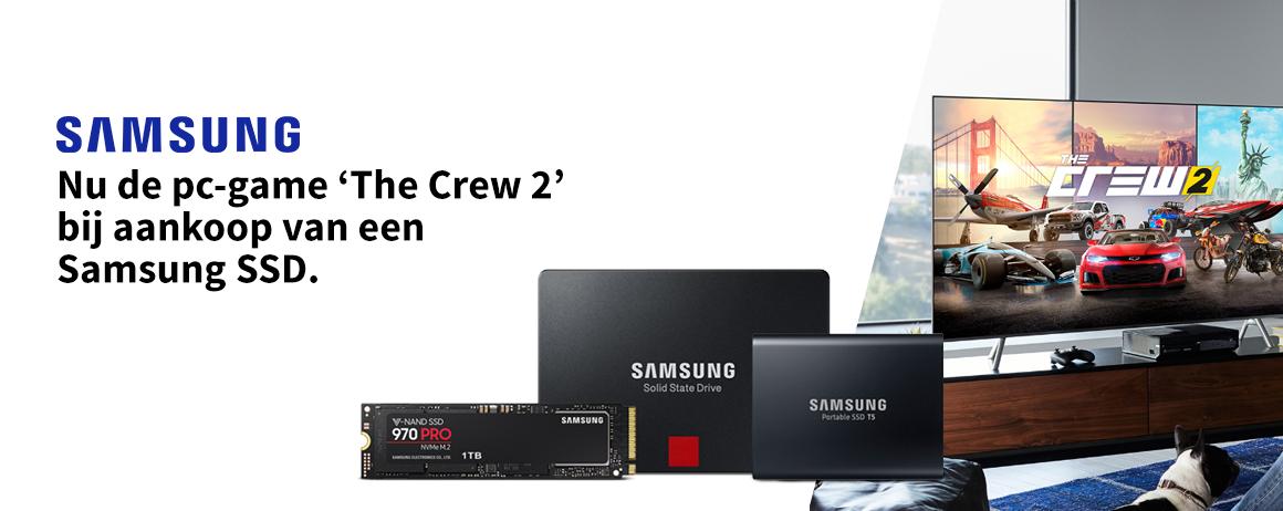 Samsung - SSD + The Crew 2