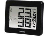 Hama Thermo-/Hygrometer TH-130 zwart