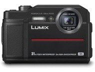 Panasonic Lumix Cd-Ft7Ef Black Waterpr