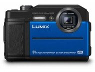Panasonic Lumix Cd-Ft7Ef Blue Waterpr