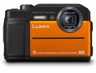 Panasonic Lumix Cd-Ft7Ef Orange Waterpr