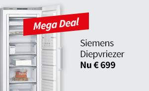 MegaDeal: Siemens Vriezer!