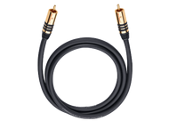 Oehlbach 21535, NF Sub-cable cinch/cinch 5,0m mono, zwart