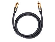 Oehlbach 21533, NF Sub-cable cinch/cinch 3,0m mono, zwart