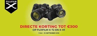 Fujifilm - Tot 300 EUR instant cashback