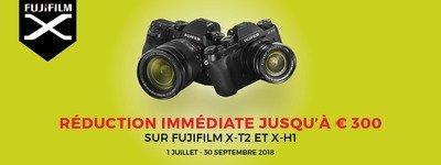 Fujifilm - Jusquaux 300 EUR de rebais!