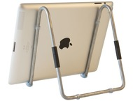 R-Go Easy Tablet Standaard Mobiel Instelbaar Zilver