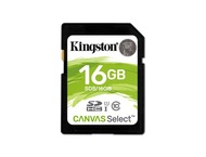 Kingston SDS16GB kingston technology canvas select 16gb