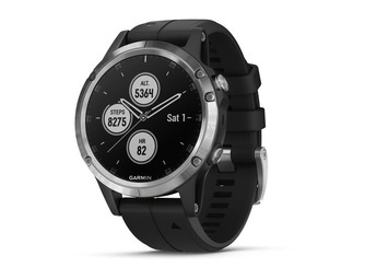Garmin Fenix 5 Plus GPS Watch Silver/Black