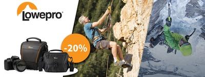 LowePro - Tot 20% korting!