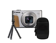 Canon Powershot SX740 HS Travel kit - Argent