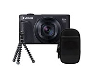 Canon Powershot SX740 HS Travel kit - Noir