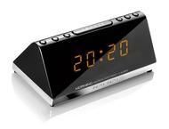 NAF NAF Klokradio, dubbel alarm, Zwart, MORNING, DNI065
