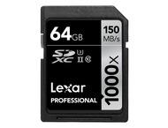 Lexar SDXC Professional UHS-II 1000x 64GB