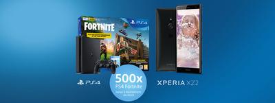 Sony - Xperia XZ2  Fortnite