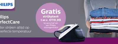 Philips - Gratis strijkplank