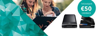 Epson - Scanner Cashback