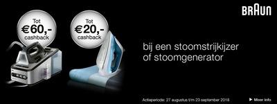 Braun - Tot €60 Cashback