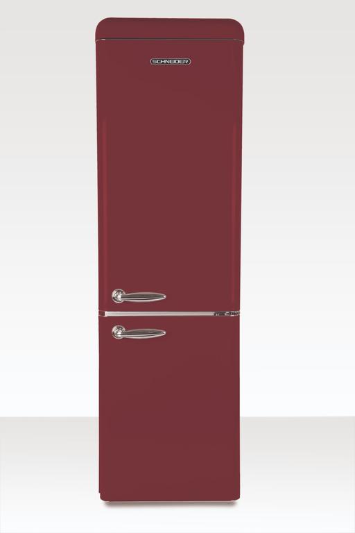 schneider sl 250 cb a wine red matt koel vriescombi. Black Bedroom Furniture Sets. Home Design Ideas