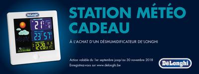 Delonghi - Station Météo cadeau