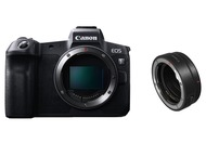 Canon EOS R + EF to RF adapter