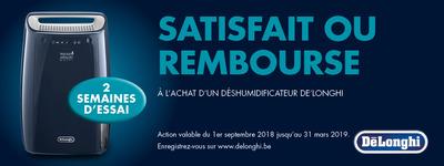 Delonghi - Satisfait ou remboursé