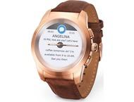 MyKronoz ZeTime hybrid smartwatch premium 44mm - goud roze