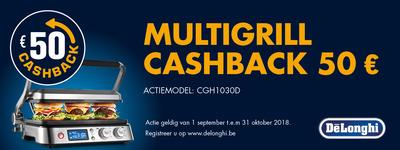 Delonghi - MultiGrill cashback