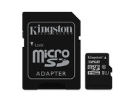 Kingston Canvas Select microSD 32GB + Adapter
