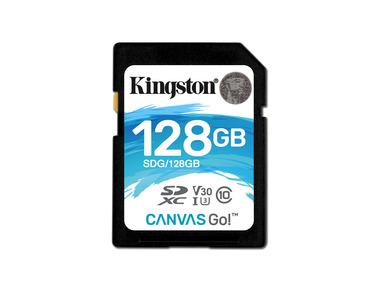 Kingston Canvas Go SDXC 128GB