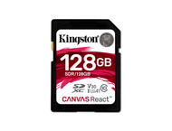 Kingston Canvas React SDXC 128GB