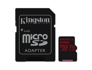Kingston Canvas React SDCR 64 GB