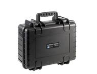 BW Outdoor.cases Type 4000 zwart/plukschuim