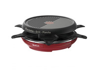 Tefal Raclette Colormania Rood RE12A512