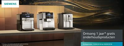 Siemens - 1 jaar gratis onderhoud