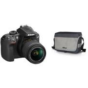 Nikon D3400 Body + AF-P 18-55VR + 16GB + Bag (5)