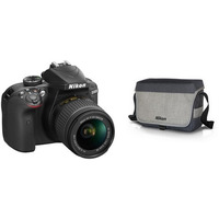 Nikon D3400 Body + AF-P 18-55VR + 16GB + Bag (5)